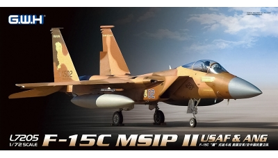 F-15C McDonnell Douglas, Eagle - G.W.H. GREAT WALL HOBBY L7205 1/72