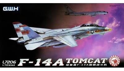 F-14A Grumman, Tomcat - G.W.H. GREAT WALL HOBBY L7206 1/72