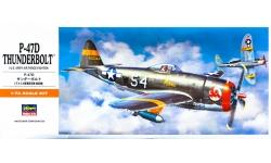 P-47D Republic, Thunderbolt - HASEGAWA 00138 A8 1/72