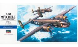 B-25J North American, Mitchell - HASEGAWA 00546 E16 1/72