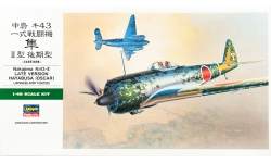 Ki-43-IIa (Kou) & Ki-43-IIb (Otsu) Nakajima, Hayabusa - HASEGAWA JT82 09082 1/48