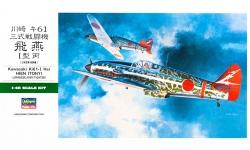 Ki-61-Ic (Hei) Kawasaki - HASEGAWA 09087 JT87 1/48