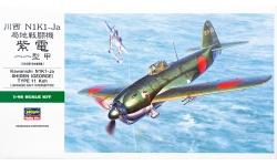 N1K1-Ja (Kou) Model 11a Kawanishi, Shiden - HASEGAWA JT89 09089 1/48