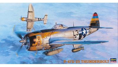 P-47D Republic, Thunderbolt - HASEGAWA 09140 JT10 1/48
