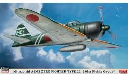 A6M3a Type 22a (Kou) Mitsubishi - HASEGAWA 09919 1/48