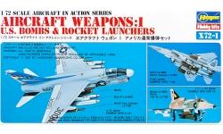 Ракетно-бомбовое вооружение ВВС США. Часть I - HASEGAWA 35001 X72-1 1/72