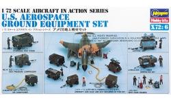 Аэродромное оборудование для обслуживания и диагностики самолетов ВВС США - HASEGAWA 35006 X72-6 1/72