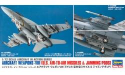 Ракетно-бомбовое вооружение ВВС США. Часть VIII - HASEGAWA 35113 X72-13 1/72