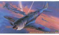 Ki-44-IIc (Hei) Nakajima, Shoki - HASEGAWA 09136 JT36 1/48