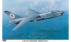 F-8E(FN)/F-8P Vought, Crusader - HASEGAWA 09514 1/48