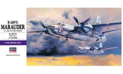 B-26F/G Martin, Marauder - HASEGAWA 00557 E27 1/72