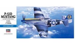 P-51D North American, Mustang - HASEGAWA 01455 D25 1/72