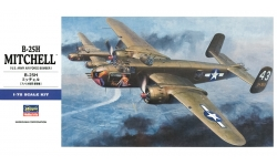 B-25H North American, Mitchell - HASEGAWA 01547 E17 1/72