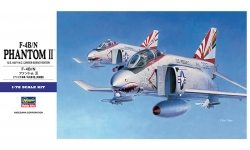 F-4B/N McDonnell Douglas, Phantom II - HASEGAWA 01566 E36 1/72