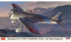 Ki-27a/b Nakajima - HASEGAWA 07451 1/48