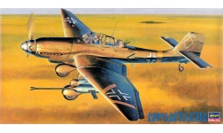 Ju 87G-2 Junkers, Stuka - HASEGAWA 09054 JT54 1/48