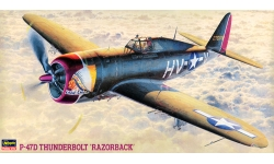 P-47D Republic, Thunderbolt - HASEGAWA 09057 JT57 1/48