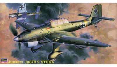 Ju 87B-2 Junkers, Stuka - HASEGAWA 09113 JT13 1/48