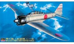 A6M2b Type 21 Mitsubishi - HASEGAWA 09143 JT43 1/48