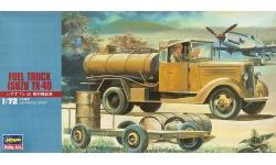 Isuzu TX40 Fuel Truck, Tokyo Automobile Industries - HASEGAWA 31116 MT16 1/72
