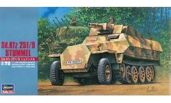 Sd.Kfz. 251/9, Ausf. C, Hanomag, Stummel - HASEGAWA 31146 MT46 1/72