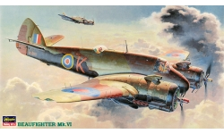 Beaufighter Mk VIC/Mk VIF Bristol - HASEGAWA 51213 CP13 1/72