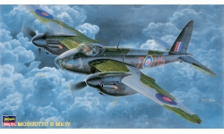 Mosquito B Mk. IV De Havilland - HASEGAWA 51217 CP17 1/72