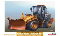 Hitachi ZW100-6 - HASEGAWA 66102 1/35