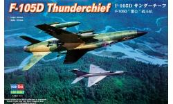 F-105D Republic, Thunderchief - HOBBY BOSS 80332 1/48