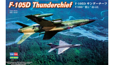 F-105D Republic, Thunderchief - HOBBY BOSS 80332 1/48