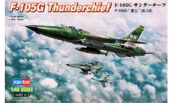 F-105G Republic, Thunderchief - HOBBY BOSS 80333 1/48