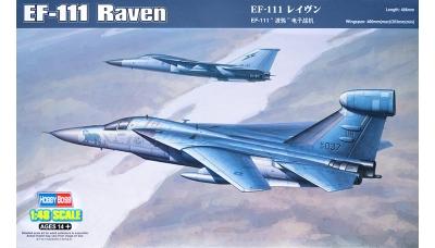 EF-111A General Dynamics, Grumman, Raven - HOBBY BOSS 80352 1/48