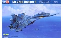 Су-27УБ Сухой - HOBBY BOSS 81713 1/48