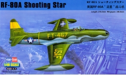 RF-80A Lockheed, Shooting Star - HOBBY BOSS 81724 1/48
