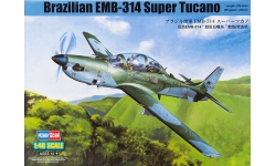 EMB-314 / A-29B Embraer, Super Tucano - HOBBY BOSS 81727 1/48