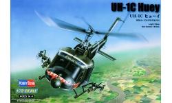 UH-1C/M Bell, Iroquois, Charlie Huey, Mike Huey, Huey Hog - HOBBY BOSS 87229 1/72