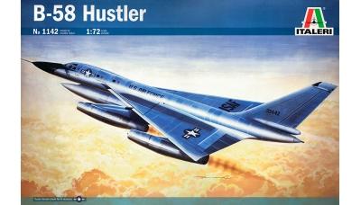 B-58A Convair, Hustler - ITALERI 1142 1/72