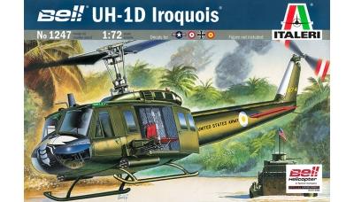 UH-1D Bell, Iroquois, Delta Huey & AB 205A-1 Agusta-Bell - ITALERI 1247 1/72