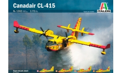 CL-415 Canadair, Bombardier Aerospace, Superscooper - ITALERI 1362 1/72