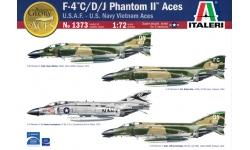 F-4C/D/J McDonnell Douglas, Phantom II - ITALERI 1373 1/72