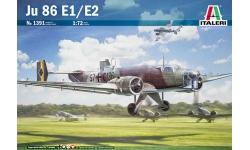 Ju 86E-1/E-2/K-1/K-6/K-7 Junkers - ITALERI 1391 1/72