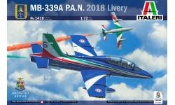 MB-339PAN Aermacchi - ITALERI 1418 1/72