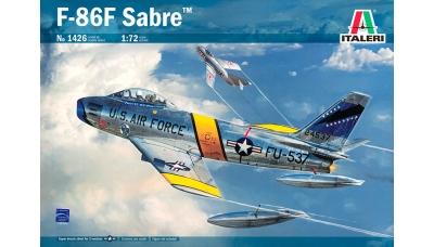F-86F-30 North American, Sabre - ITALERI 1426 1/72