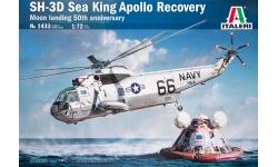 SH-3D/3G Sikorsky & WS-61 Westland HAS Mk. 2, Sea King - ITALERI 1433 1/72