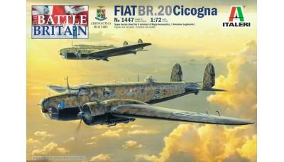 BR.20/BR.20M FIAT, Cicogna - ITALERI 1447 1/72