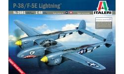 P-38J & F-5E Lockheed, Lightning - ITALERI 2681 1/48