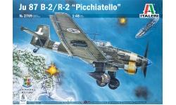 Ju 87B-2/R-2 Junkers, Stuka - ITALERI 2769 1/48