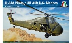 H-34A/H-34G.I/UH-34D Sikorsky, Choctaw, Pirate - ITALERI 2776 1/48