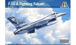 F-16A Block 10/15 ADF/20 MLU General Dynamics, Fighting Falcon - ITALERI 2786 1/48