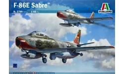 F-86E-10/CL-13 Mk. 4/5/6 North American, Canadair, Sabre - ITALERI 2799 1/48